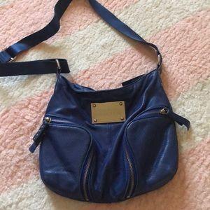 Kenneth Cole blue crossbody bag